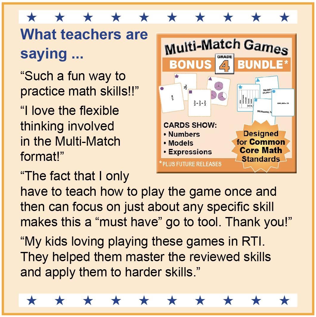Math Games 3-5 | k8mathsense.com