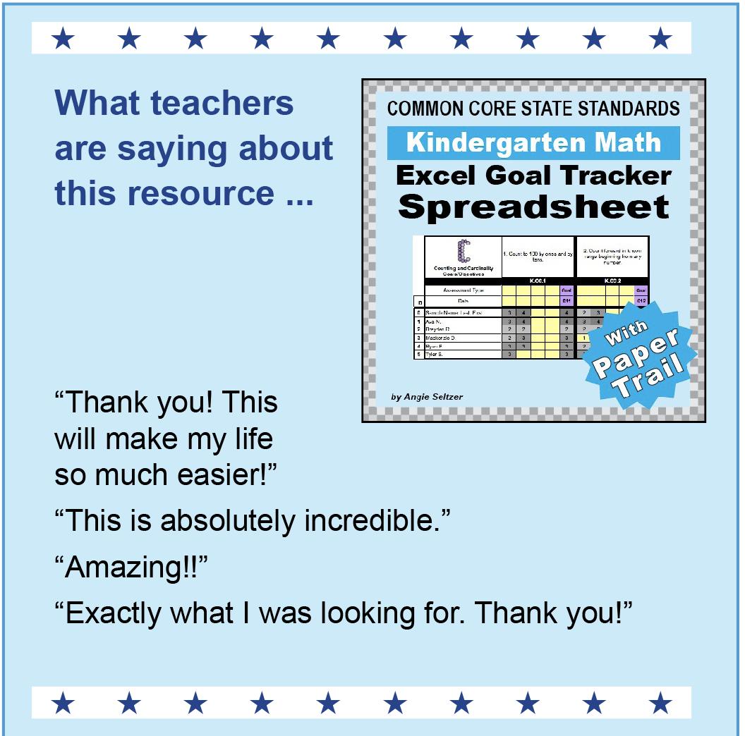 TRACK K-8 MATH GOALS | k8mathsense.com