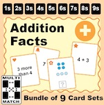 Addition Facts Bundle