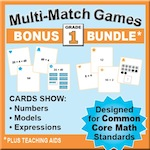 Grade 1 Games Bundle