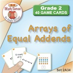 Arrays of Equal Addends