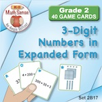 3-Digit Numbers in Expanded Form