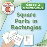 Square Parts in Rectangles