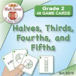 Halves, Thirds, Fourths, and Fifths