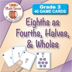 Equal Fractions: Eighths as Fourths, Halves, and Wholes