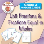 Unit Fractions and Fractions Equal to Wholes