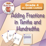 Adding Fractions in Tenths and Hundredths