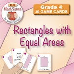 Rectangles with Equal Areas