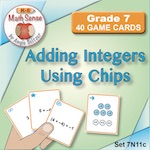 Adding Integers Using Chips