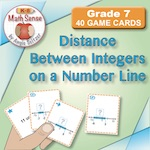 Distance Between Integers on a Number Line