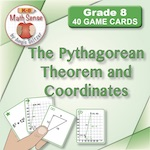 The Pythagorean Theorem and Coordinates