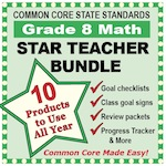 Grade 8 Math Star Teacher Bundle