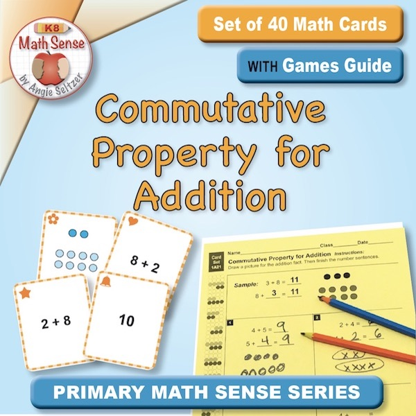 Commutative Property for Addition Card Games 1A21