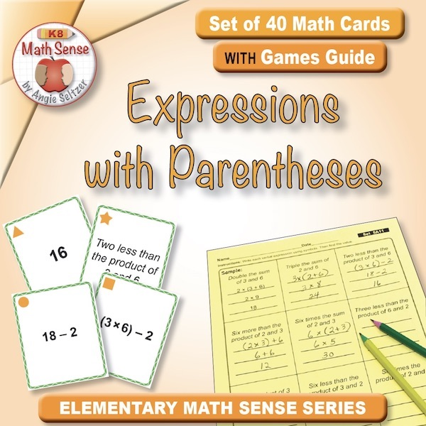 Expressions with Parentheses Card Games 5A11