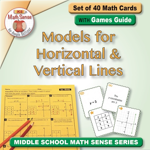 Models for Horizontal & Vertical Lines Card Games 8E42-H