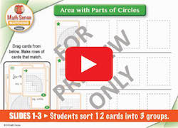 PPT Area with Parts of Circles
