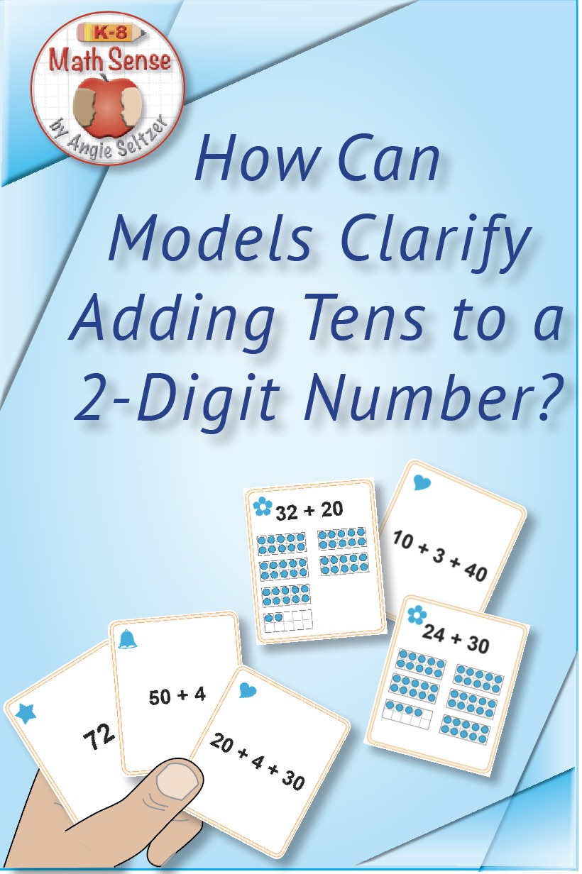 Adding Tens to 2D Number Set 1B33 at TpT