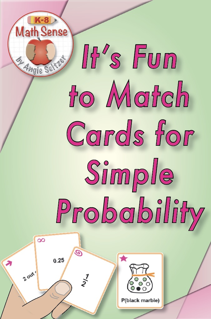 Simple Probability Game Cards 7S33