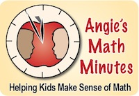 Angie's Math Minutes Blog