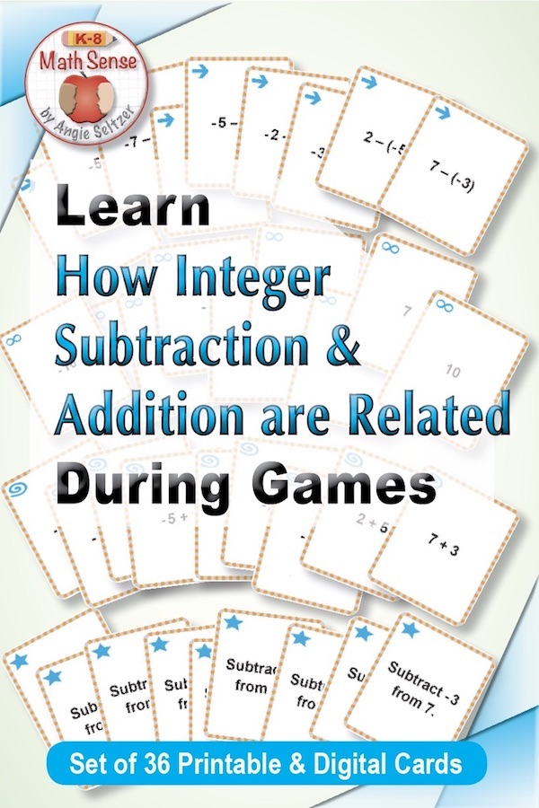 Relating Subtraction of Integers to Addition