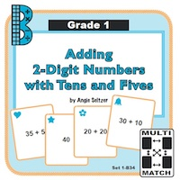 Adding 2-Digit Numbers with Tens and Fives