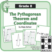 Pythagorean theorem and Coordinates