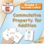 1A21 Commutative Property for Addition