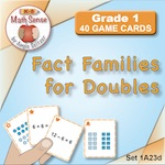 1A23 Fact Families for Doubles