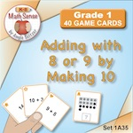 1A35 Adding With 8 or 9 by Making 10