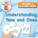 1B21 Understanding Tens and Ones