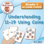 1B22 Understanding 11-19 Using Coins