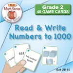 2B15 Read & Write Numbers to 1000