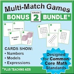 Grade 2 Games Bundle