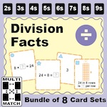 Division Facts Bundle