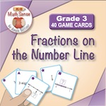3F13 Fractions on the Number Line
