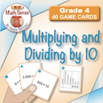 4B11 Multiplying and Dividing by 10