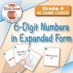 4B13 6-Digit Numbers in Expanded Form
