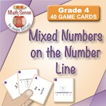 4F21 Mixed Numbers on the Number Line