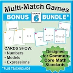 Grade 6 Games Bundle