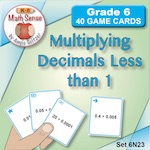 Multiplying Decimals Less than 1