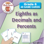 Eighths as Decimals and Percents