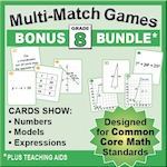 Grade 8 Games Bundle