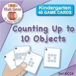 KC24 Counting Up to 10 Objects