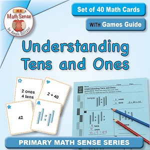 Understanding Tens and Ones Card Games 1B21