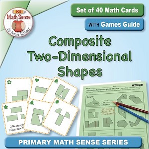 Composite 2-Dimensional Shapes Card Games 1G13