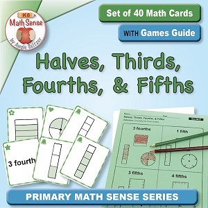 Halves, Thirds, Fourths, and Fifths Card Games 2G15