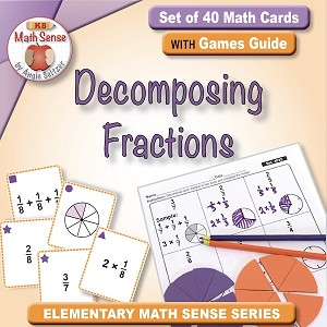 Decomposing Fractions Card Games 4F25