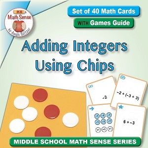 Adding Integers Using Chips Card Games 7N11-C